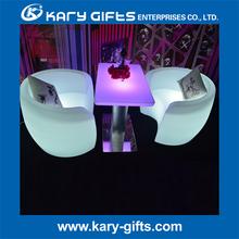 RGB led lighting arm chair-led arm chair-arm chair with light