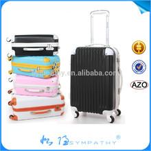 light blue luggage