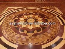 art parquet red wood medallions design flooring wood floors