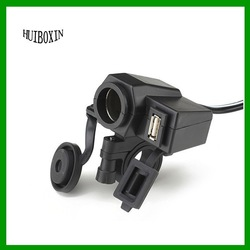 Motorcycle ATV Dirt Bike USB Charger Cigarette Ligher Cell Phone GPS for Honda