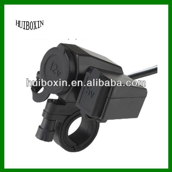 Motorcycle ATV Dirt Bike USB Charger Cigarette Ligher Cell Phone GPS for Honda