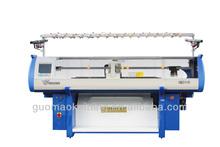 44 pollici macchina per maglieria piana usato con pettine informatizzati singolo sistema di macchina per maglieria( guosheng)