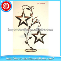 Wedding decoration floor standing star candle holders