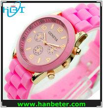 Wholesale new design ladies automatic silicone quartz bracelet watch best