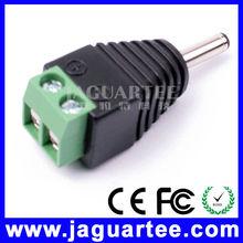 Stringent quality CCTV camera 1.3X3.5mm 12v dc connector jack