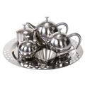 11 arábica pcs conjunto de chá com oxhorn/milho punho