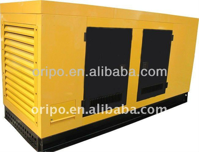 Soundproof canopy 100kva generator with AD type fuel pump EFC electronic governor