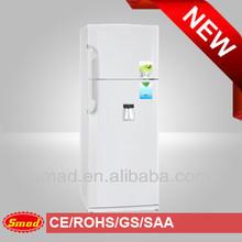Large capacity 500L Two door Combine top freezer refrigerator with water dispenser