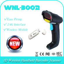 32 bit black charm WNL-3002 1D Laser diode wireless handheld bar code decoder barcode scanner data collect