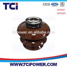 33KV brown porcelain pin insulator