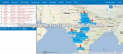 GPS Vehicle Tracking System, Vehicle Tracking Software, Fleet management System using Google map
