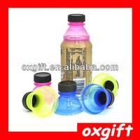 OXGIFT 6pcs Snap On Soda Bottle Tops Can Convert