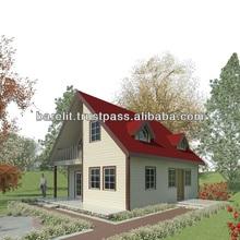 Steel House EMILY, 135 m2 + 5 m2 veranda