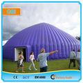 La cúpula de aire, inflables tienda de la bóveda, inflables tienda de césped