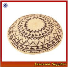 CDPC164/100% Hand Knitted Crochet Jewish Kippah Kippot, kipa, Yarmulka,Yarmulkes,Jewish Religious Judaica Skullcap