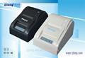 Les plus populaires 58 mm imprimante ticket zj-5890t, Facile papaer chargement peut protéger la tête d'impression