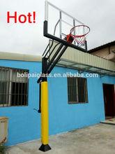 height adjustable basketball goal posts,steel basketball hoop