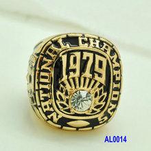 1979 Alabama National Custom championship replica rings