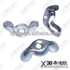 Nickel 200/201 N02200/N0220 nanjing hardware stainless steel wing nut dimensions