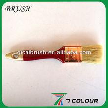 1'' White bristle coppering ferrule paint brush