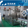 Automatic plastic bottle filling plant