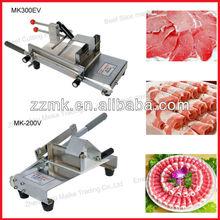 Popular electric frozen lamb slicer/meat roller slicer/frozen beef slicing machine