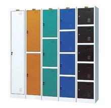Single door metal locker cabinet
