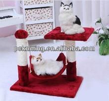 MOQ:50pcs 45*30*40cm Plush Cat Products Pet Products Pet Toy for Cat Pet Tree Cat tree Wholesale