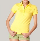 High Quality Promotion Cotton/Polyester Women Polo Shirt Cheap Price