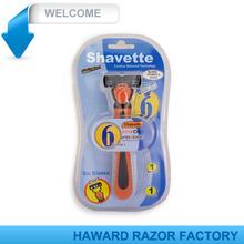Shavette 6 blade razor