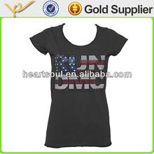 Wholesale Cheap Black 2014 korea t-shirt lady fashion
