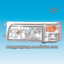 all chrome toyota coaster bus lights