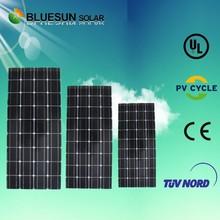 tempered glass 100w mono mitsubishi solar panels