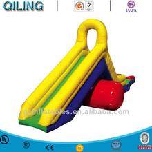 Inflatable aqua chute pool toys