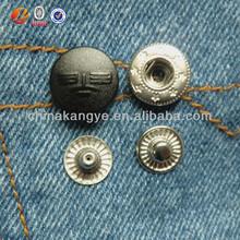 snap button cap, decorative snap button covers, plastic button snap button decorate button J-421