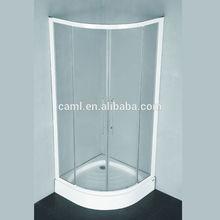CAML German design aluminum profiles shower room with long handle sliding door