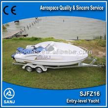 SANJ competitive wave boat with yamaha jet ski