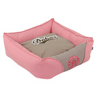 Cute dog house and pet bed for dog pink dog bed