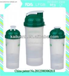 smart shaker bottle for nutritional supplement
