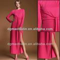2014 heißer verkauf hoch geschlitzt damen kaftan maxi dress