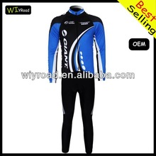 Accept sample order bike suite in cycling wear