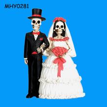 Skeleton couple collectible wholesale Decoration Wedding