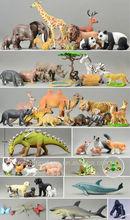 Plastique PVC animaux sauvages jouets ; en plastique animal sauvage jouet ; OEM buffles animaux