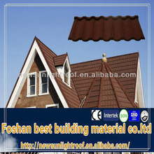 High quality recycled rubber roofing tiles / new building construction materials /thatch roofing