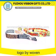 Promotion custom woven wristbands