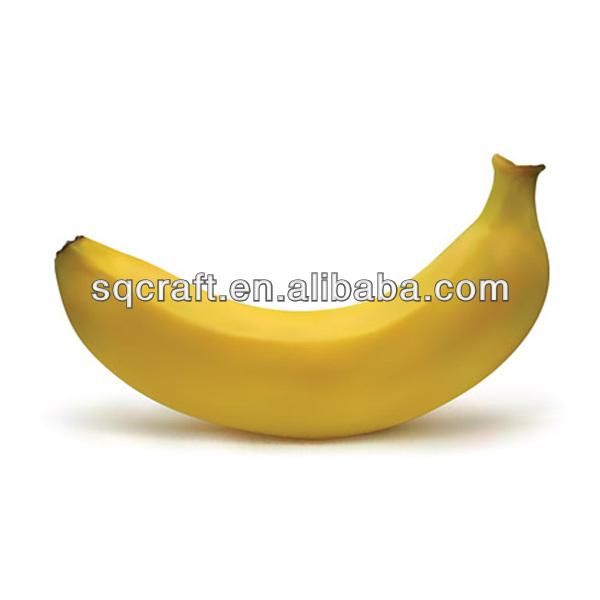 Simulation plastic banana / Resin fruits factory / Fake food manufacturer in China