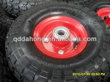 small pneumatic wheel 410/350-4