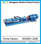 G series horizontal mono helical rotor pump