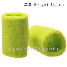 Embroidery custom sport kelly green sweatband