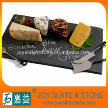 Black Slate Stone Food Serving Tray
